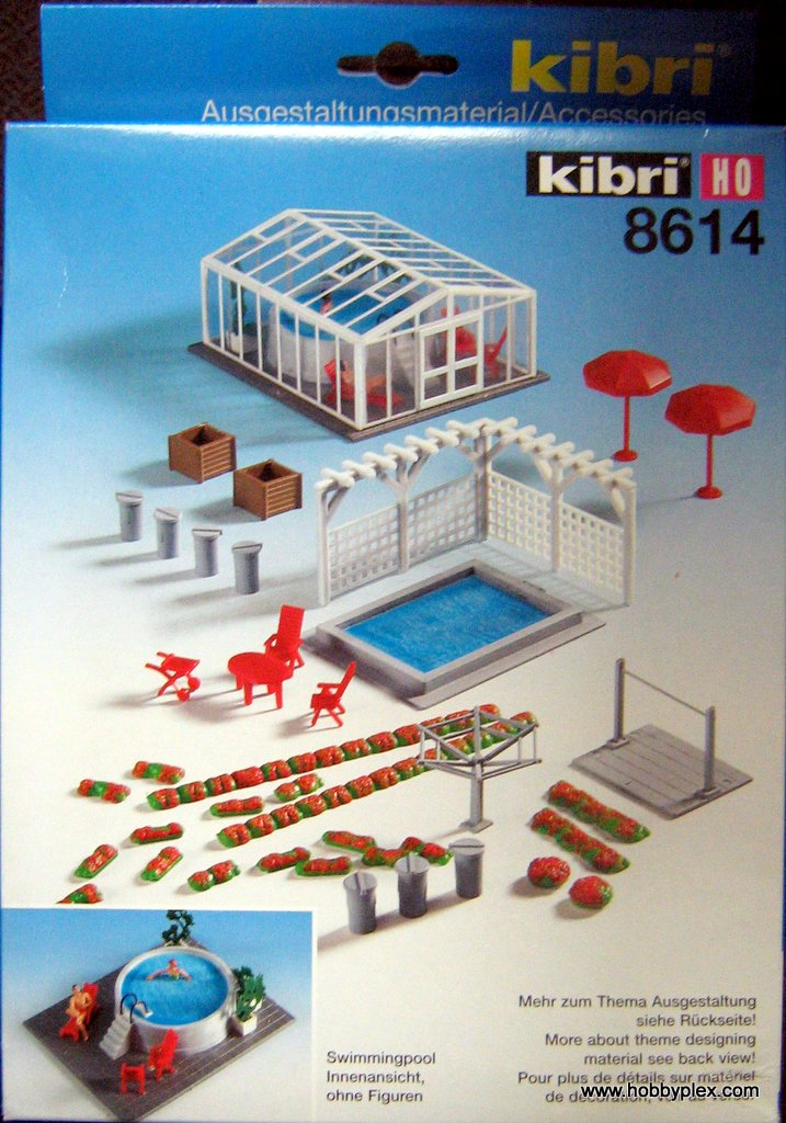 KIBRI # 8614 - SWIMMING POOLS