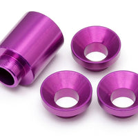 HPI # 87459 - SPACER SET FOR CLUTCH BELL HOLDER (PURPLE) BAJA 5B
