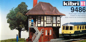 "KIBRI # 9486 - ""ROTTERSHAUSEN"" SIGNAL BOX"