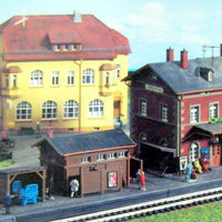 "KIBRI # 9528 - ""LANGENTHAL"" STATION SET"