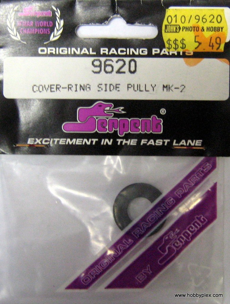 SERPENT # 9620 - COVER-RING SIDE PULLY