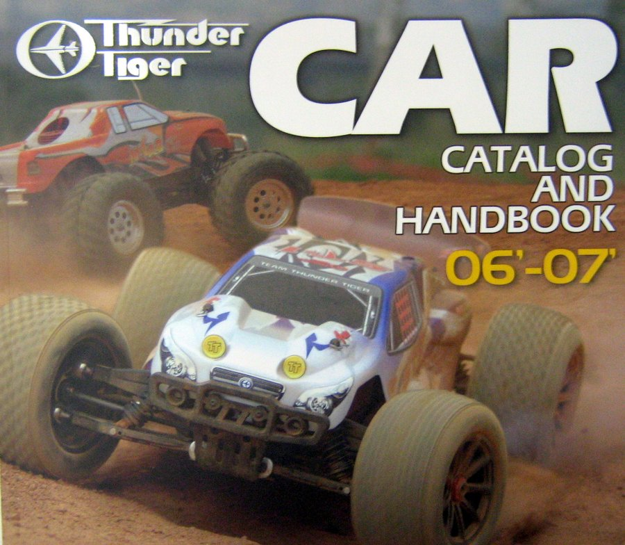 THUNDER TIGER CAR CATALOG 2006-2007