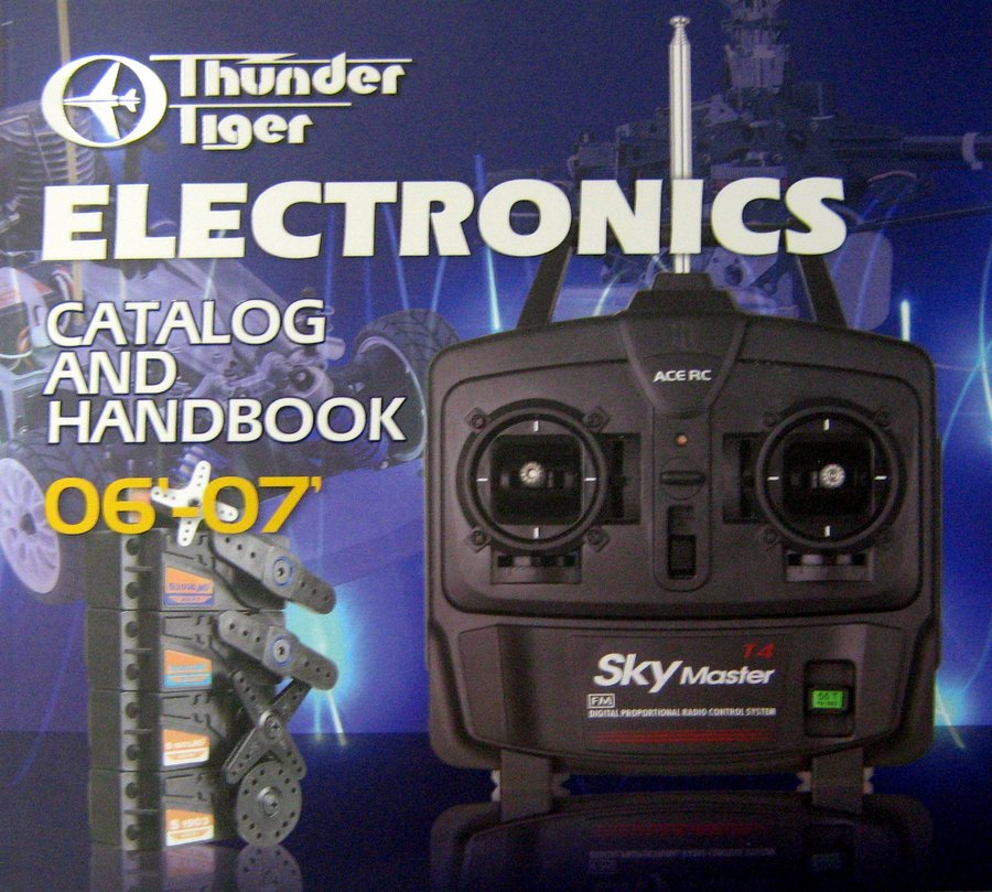 THUNDER TIGER ELECTRONICS CATALOG 2006-2007