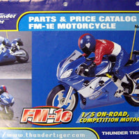 THUNDER TIGER - PARTS AND PRICE CATALOG