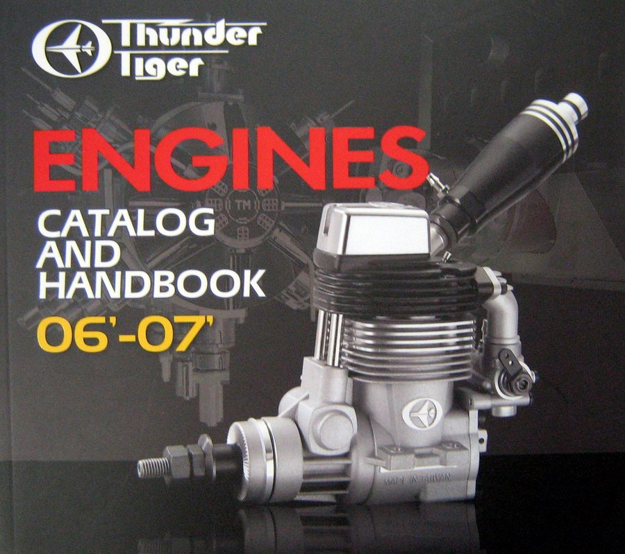 THUNDER TIGER ENGINES CATALOG 2006-2007