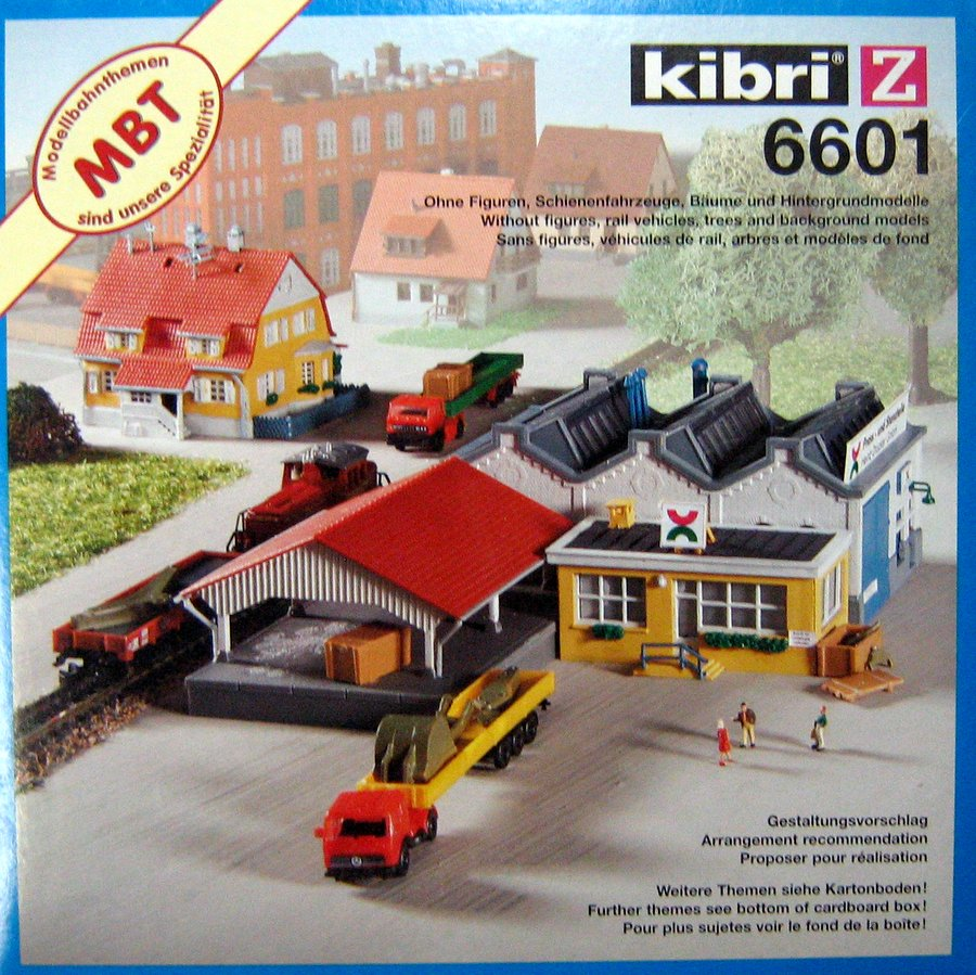 KIBRI # 6601 - HEINZ DRUCKER FACTORY - Z Scale