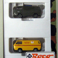 ROCO MINITANKS # 810 - US ARMY FIRE AND RESCUE TRUCKS