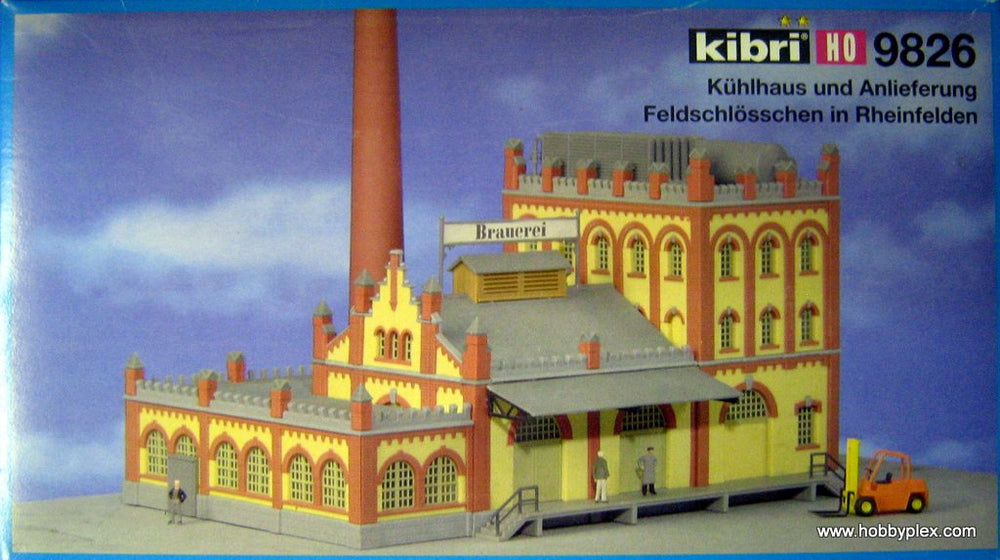 KIBRI # 9826 - DEPOT FOR BREWERY - HO Scale