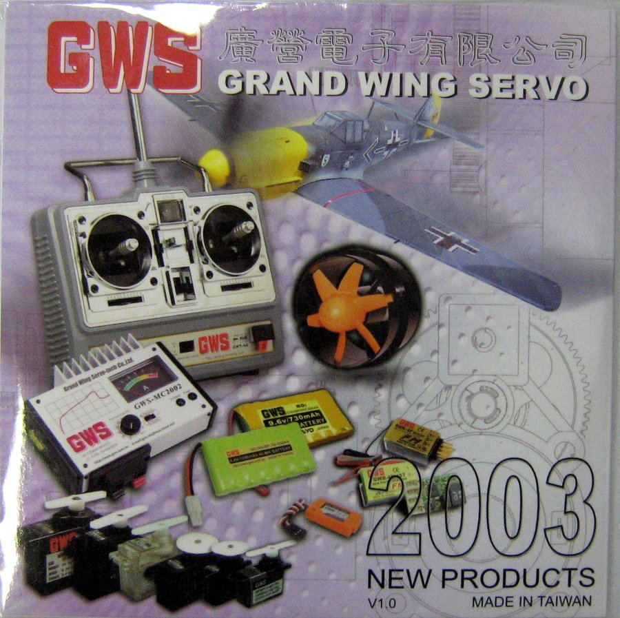 GWS CATALOG CD FOR 2003