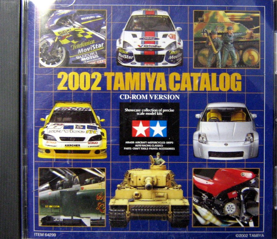 TAMIYA CATALOG - 2002 CD ROM VERSION