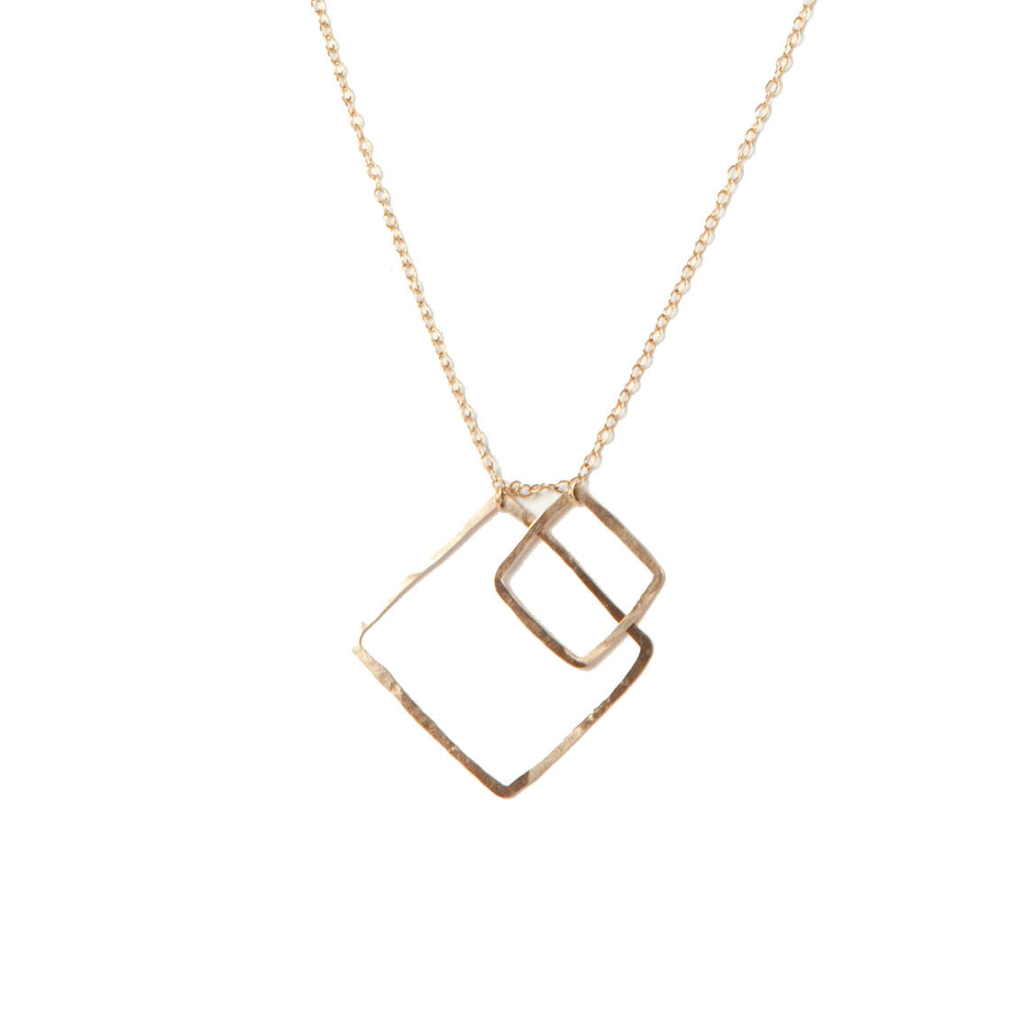 2 Squares Necklace