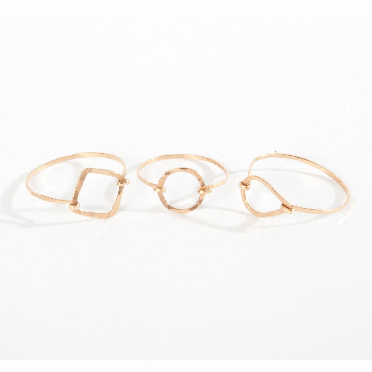 Pinky Knuckle Frame Ring