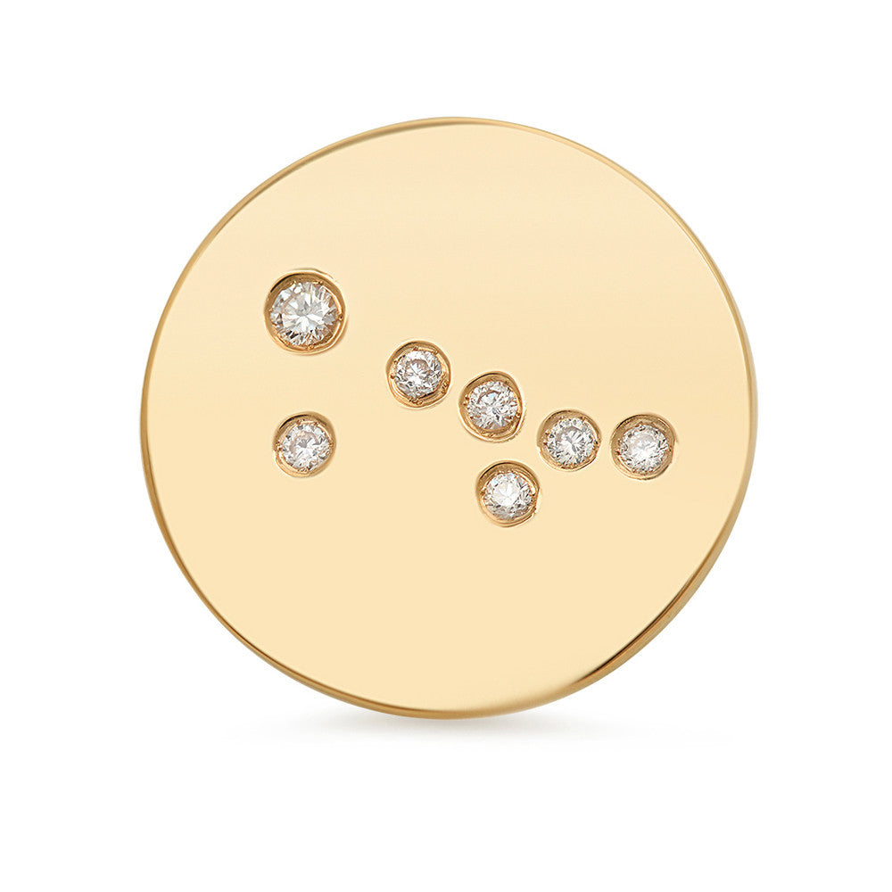 Taurus Constellation Stud Earring