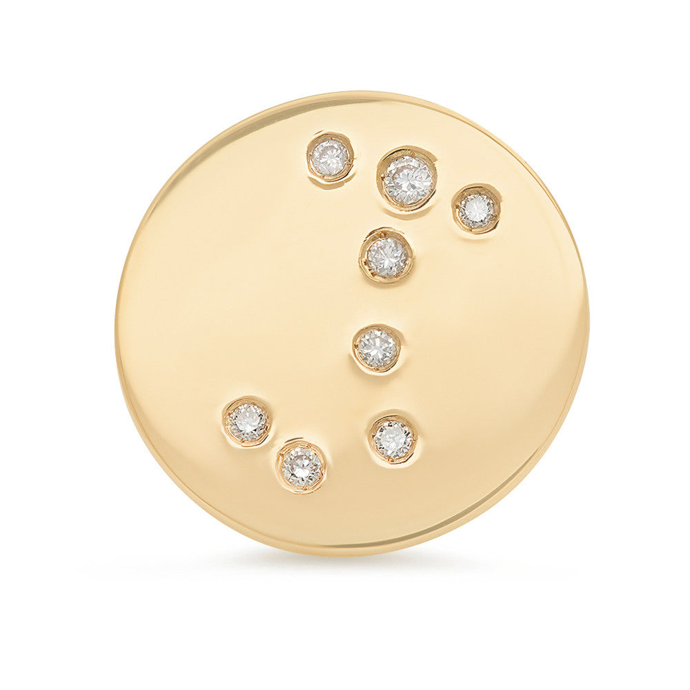 Scorpio Constellation Stud Earring
