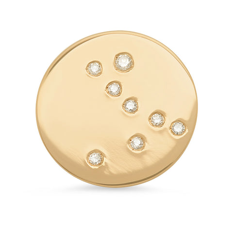 Pisces Constellation Stud Earring