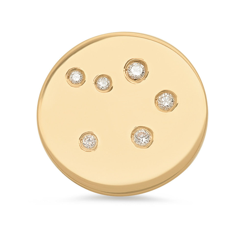 Libra Constellation Stud Earring