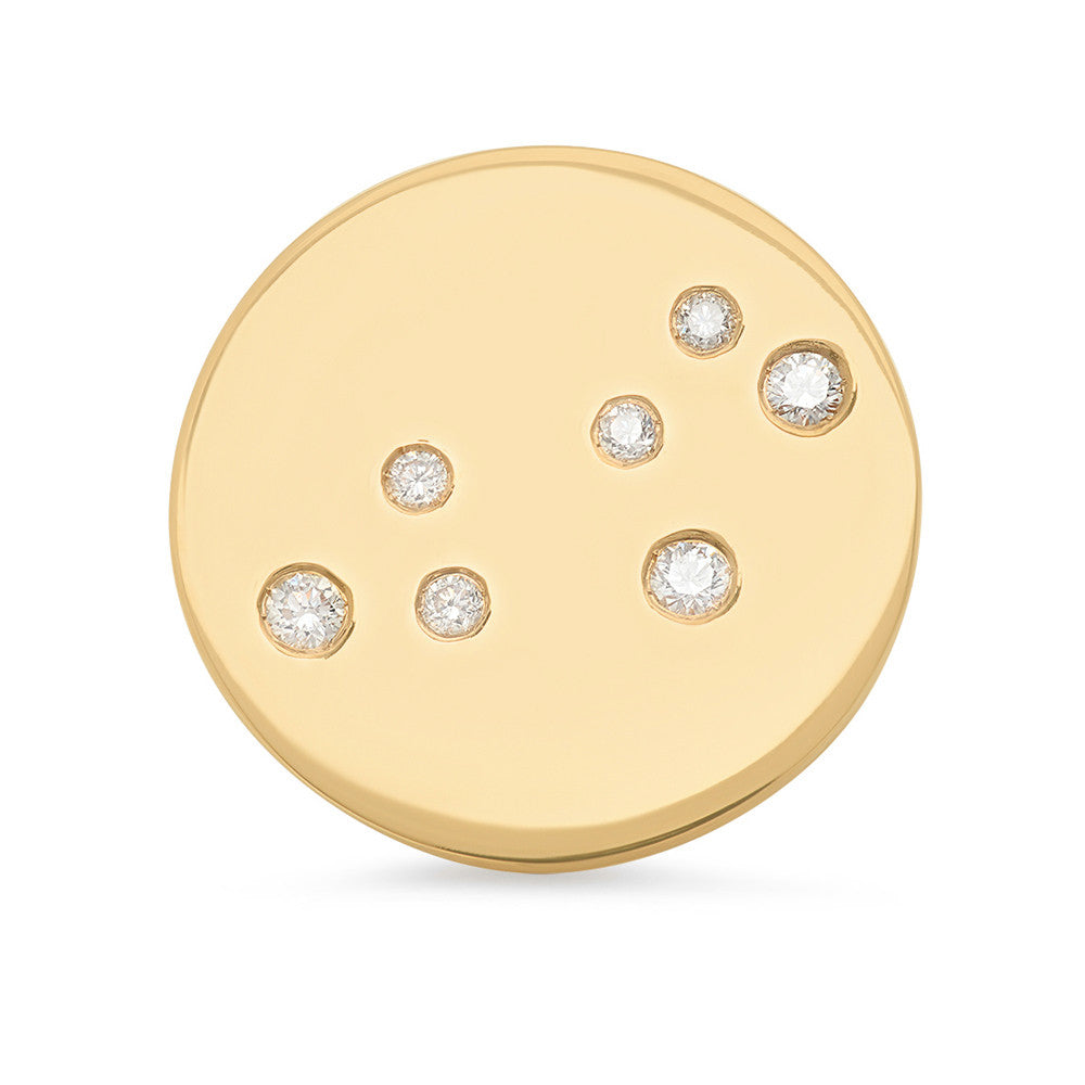 Leo Constellation Stud Earring