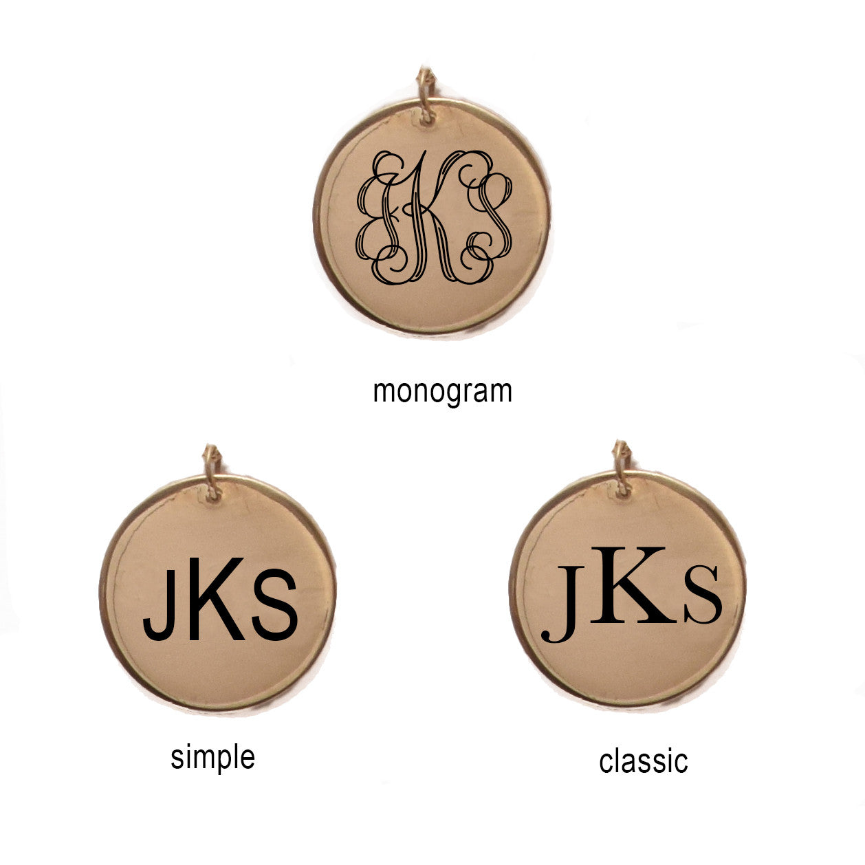 Engraved Pendant