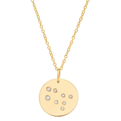 Gemini Constellation Pendant