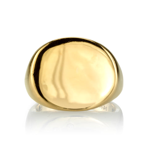 Large Signet Ring, 14k