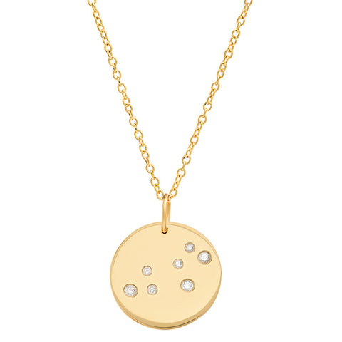 Leo Constellation Pendant