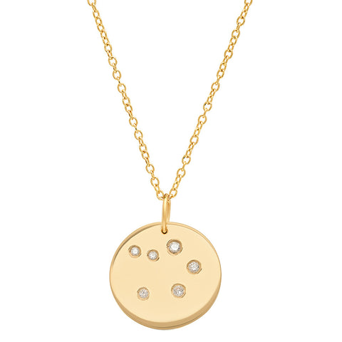 Libra Constellation Pendant