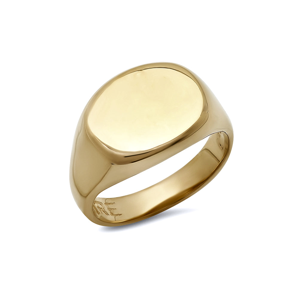 Small Signet Ring, 14k