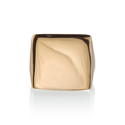 Square Point Ring, 14k