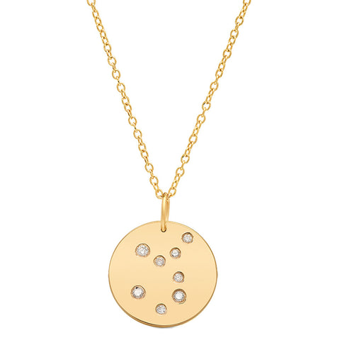 Virgo Constellation Pendant