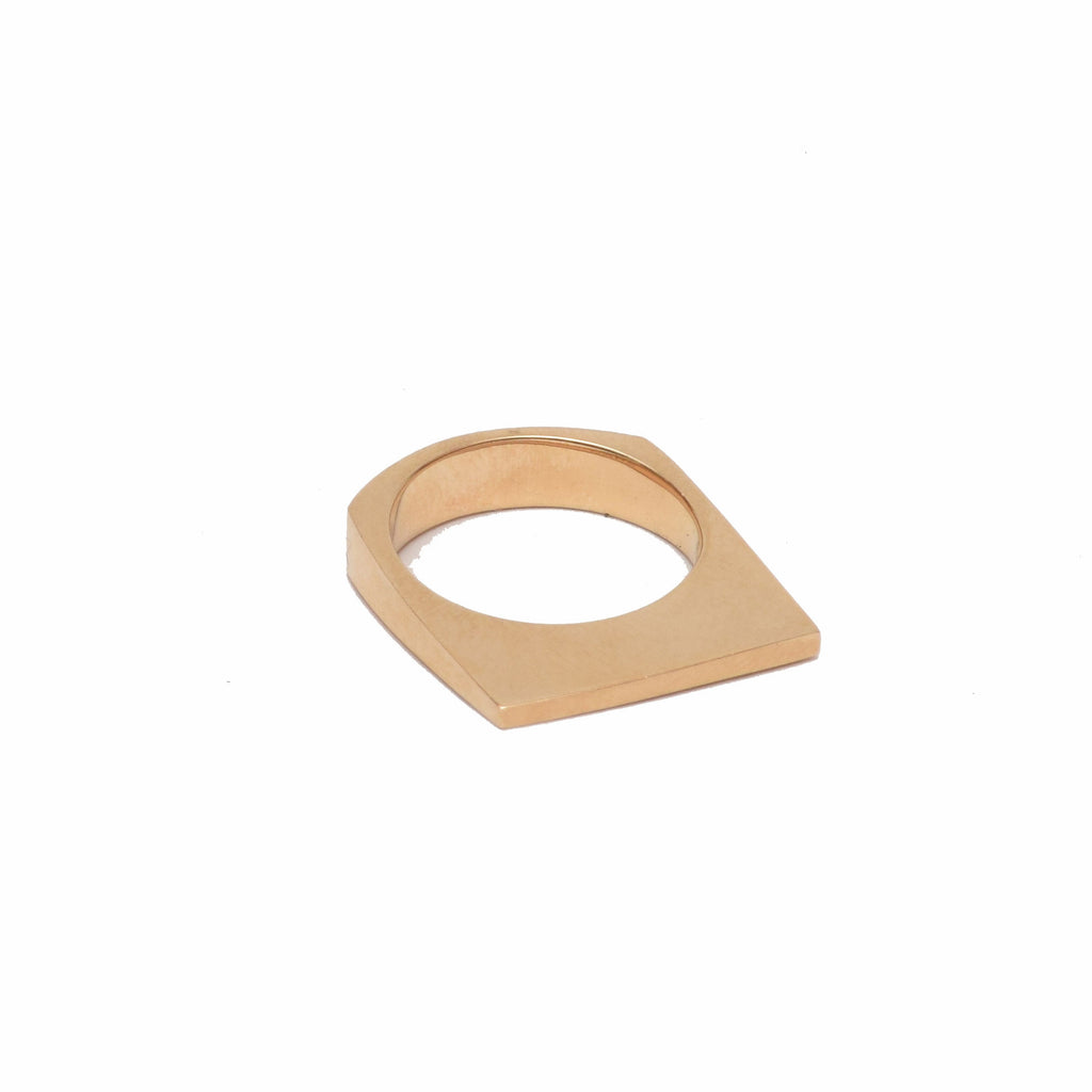 Plateau Ring, 14k