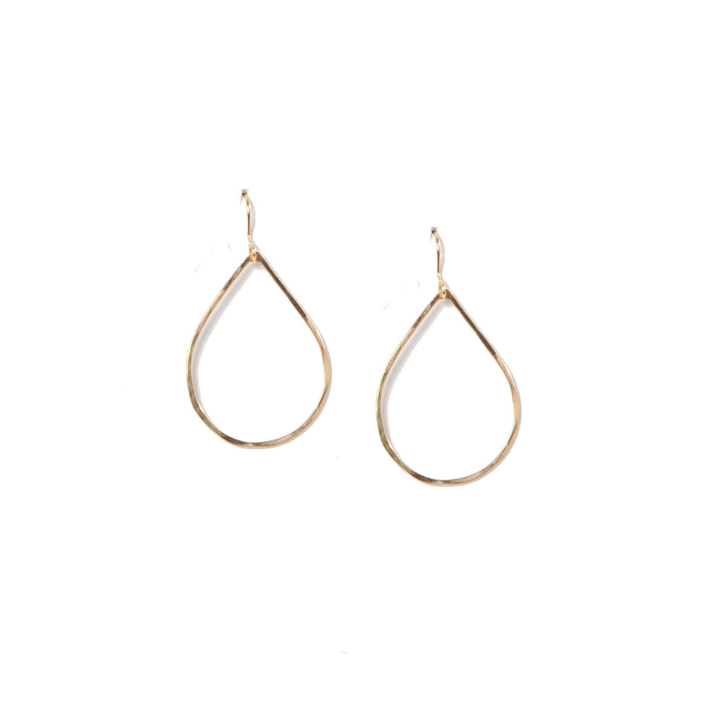 Teardrop Frame Earrings