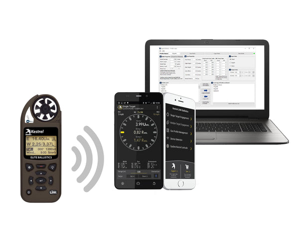 How do I pair my Kestrel 5 series meter with a mobile device?