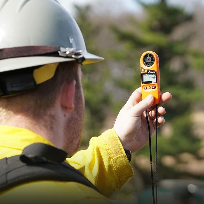 Say hello to the Kestrel 3550FW Fire Weather Meter with Bluetooth
