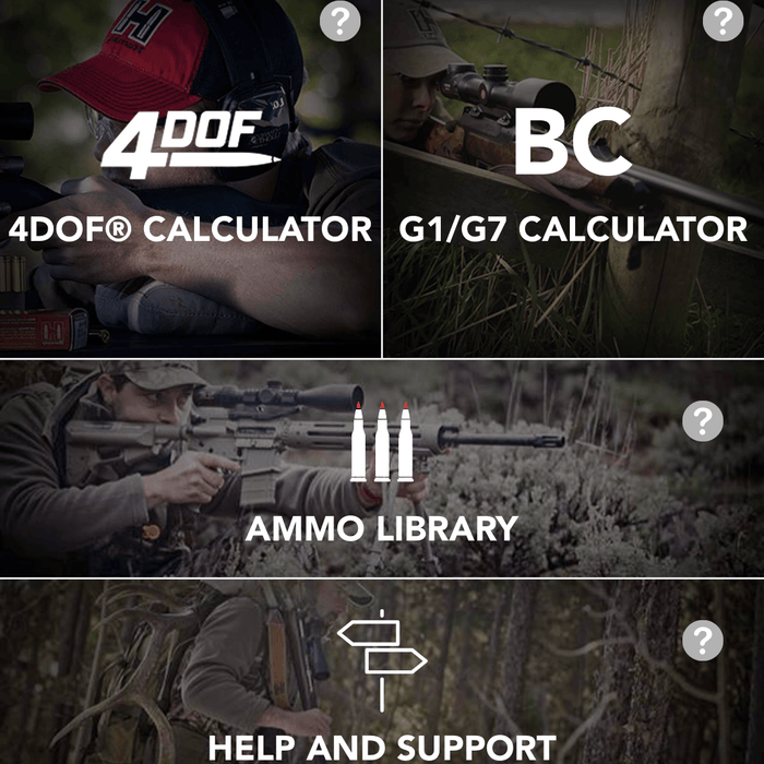 Using the Hornady 4DOF Ballistics APP with a Ketrel 5500