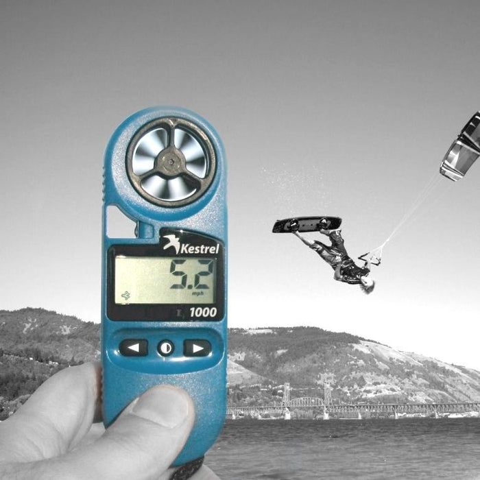 Accurate Wind Speed Readings with the Kestrel 1000 Handheld Anemometer