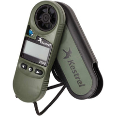 Kestrel 3500NV Handheld Pocket Weather Meter with Night Vision Preserving Backlight
