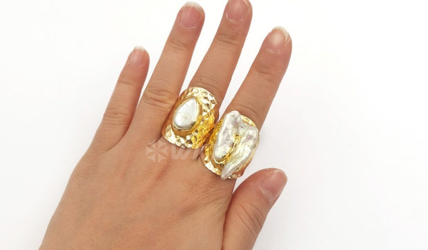 Big size women rings