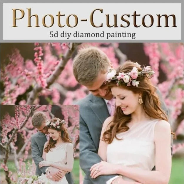 Photo Customise Create Your Own Unique Diamond Painting
