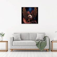 Load image into Gallery viewer, Eagle Flag 5D DIY Full Drill Diamond Painting