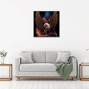 Eagle Flag 5D DIY Full Drill Diamond Painting