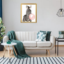 Load image into Gallery viewer, Zebra Giraffe - Paint by Numbers 40x50cm