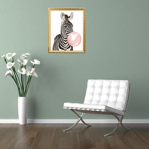 Zebra Giraffe - Paint by Numbers 40x50cm