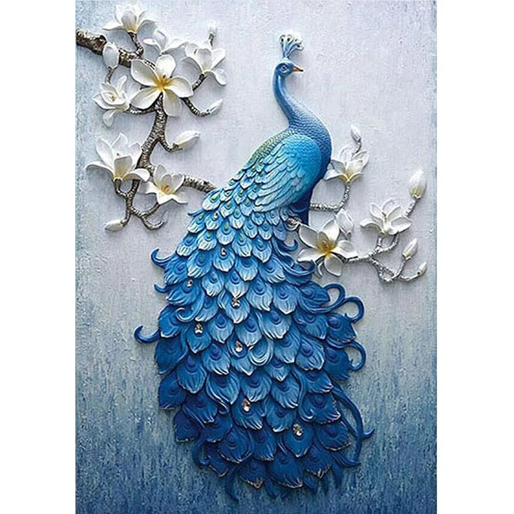 Peacock Full Drill 5D DIY DIY Diamond Painting