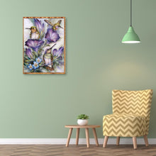 Load image into Gallery viewer, Hummingbird DIY Full Drill Diamond Painting