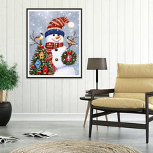 Load image into Gallery viewer, Christmas DIY Full Drill Diamond Painting