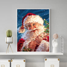 Load image into Gallery viewer, Santa Claus 5D DIY Full Drill Diamond Painting