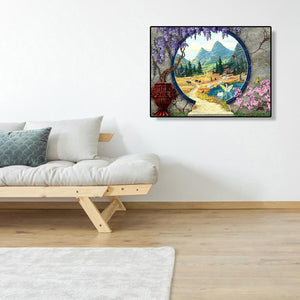 Garden - Full Diamond Painting