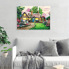 Load image into Gallery viewer, Village Cottage - Paint by Numbers 40x50cm