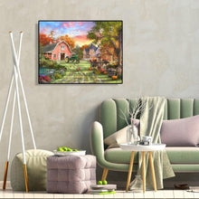 Load image into Gallery viewer, Village Scenery - Paint by Numbers 40x50cm