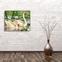 Load image into Gallery viewer, Swans - Paint by Numbers 40x50cm